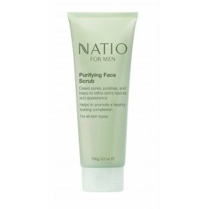 Buy Natio For Men Purifying Face Scrub - Nykaa