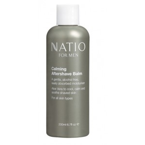 Buy Natio Calming Aftershave Balm - Nykaa
