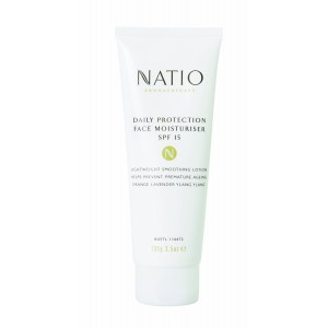 Buy Natio Aromatherapy Daily Protection Face Moisturiser SPF 15 - Nykaa