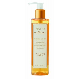 Buy Natio Wellness Shower & Bath Gel - Nykaa