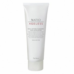 Buy Natio Ageless Dual Action Cleanser And Exfoliator - Nykaa