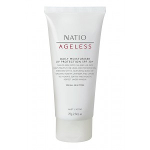 Buy Natio Ageless Daily Moisturiser UV Protection SPF 30+ - Nykaa