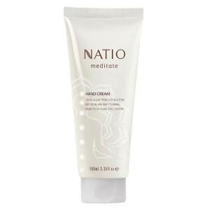 Buy Natio Meditate Hand Cream Pink Lotus - Nykaa