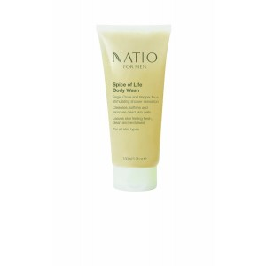 Buy Natio For Men Spice of Life Body Wash - Nykaa