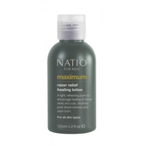 Buy Natio Maximum Razor Relief Healing Lotion - Nykaa