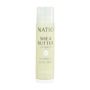 Buy Natio Shea Butter Lip Balm - Nykaa