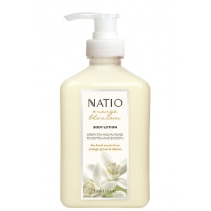 Buy Natio Orange Blossom Body Lotion - Nykaa