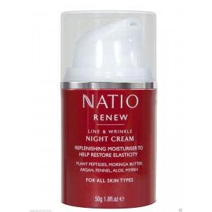 Buy Natio Renew Line & Wrinkle Night Cream - Nykaa