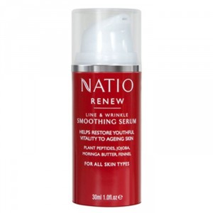 Buy Natio Renew Line & Wrinkle Smoothing Serum - Nykaa
