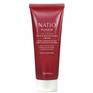 Buy Natio Renew Line & Wrinkle Neck & Decolletage Cream - Nykaa
