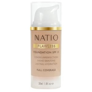 Buy Natio Flawless Foundation SPF 15 - Nykaa