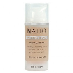 Buy Natio Invisible Blend Foundation - Nykaa