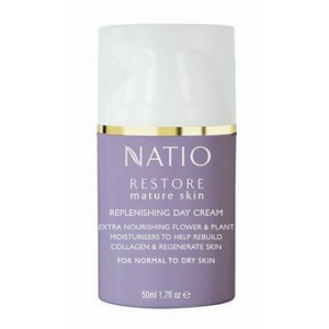 Buy Natio Restore Mature Skin Replenishing Day Cream - Nykaa