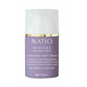 Buy Natio Restore Mature Skin Nurturing Night Cream - Nykaa