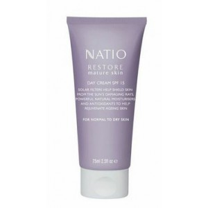 Buy Natio Restore Mature Skin Day Cream SPF 15 - Nykaa