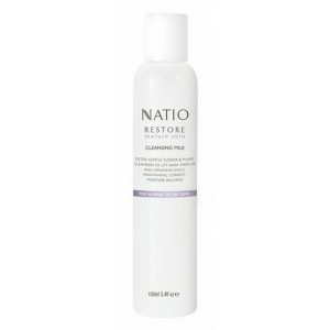 Buy Natio Restore Mature Skin Cleansing Milk - Nykaa
