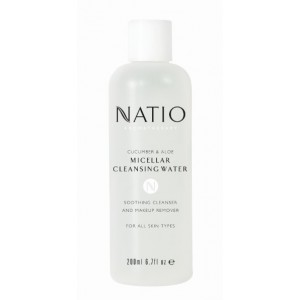 Buy Natio Cucumber & Aloe Micellar Cleansing Water - Nykaa