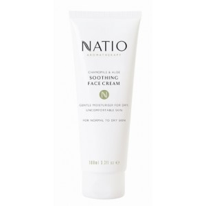 Buy Natio Chamomile & Aloe Soothing Face Cream - Nykaa