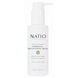 Buy Natio Apricot and Orange 10 Minute Brightening Mask - Nykaa