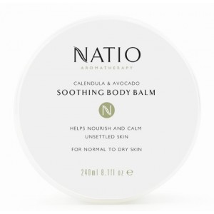 Buy Natio Calendula & Avocado Soothing Body Balm - Nykaa