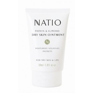 Buy Natio Papaya & Almond Dry Skin Ointment - Nykaa