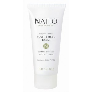 Buy Natio Cocoa & Mint Foot & Heel Balm - Nykaa