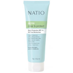 Buy Natio Daily Protection SPF 15 Oil Free Moisturiser - Nykaa