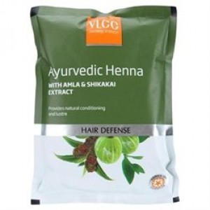 Buy VLCC Natural & Herbal  Henna Hair Color With Amla & Shikakai Extracts - Nykaa