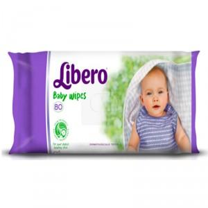 Buy Libero Baby Wet Wipe 80Pcs - Nykaa