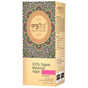 Buy Arganic by Aryanveda 100% Organic Moroccan Argan Hair Serum - Nykaa