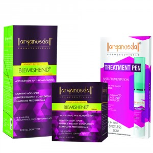 Buy Aryanveda Advanced Blemishend Treatment Combo Pack - Nykaa