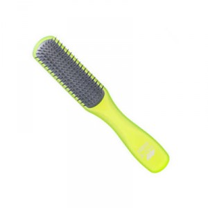 Buy Kent AHGLO2 Everyday Combing & Styling Brush Non Scratch Ion Quills for Short Hair  - Lime Green Color - Nykaa