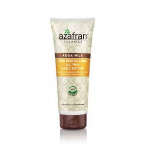 Buy Azafran Organics Aqua Milk Skin Revitalizing Oil Trio Body Butter - Nykaa