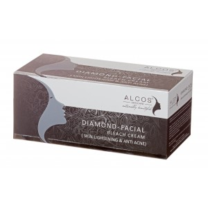 Buy Alcos Diamond Facial Bleach Cream - Nykaa