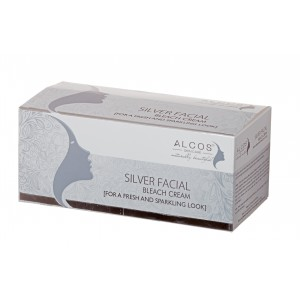Buy Alcos Silver Facial Bleach Cream - Nykaa
