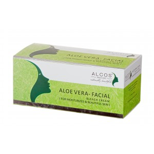 Buy Alcos Aloevera Facial Bleach Cream - Nykaa