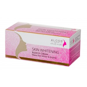 Buy Alcos Skin Whitening Bleach Cream - Nykaa