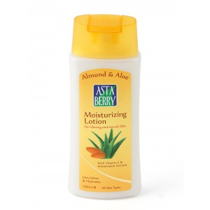 Buy Astaberry Almond & Aloe Moisturizing Lotion - Nykaa