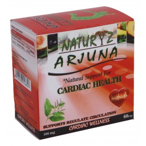Buy Herbal Naturyz Cardioguard (Arjuna) N60 - Nykaa