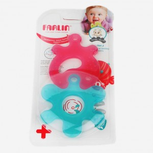 Buy Herbal FARLIN Educational Smiley Teethers (Blue + Pink) - Nykaa