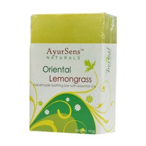 Buy AyurSens Oriental Lemongrass Bathing Bar - Nykaa