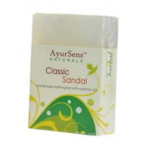 Buy AyurSens Classic Sandal Bathing Bar - Nykaa