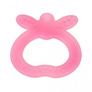 Buy FARLIN Apple Shape Silicone Gum Soother (Pink) - Nykaa