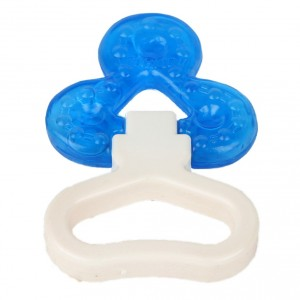 Buy FARLIN Flower Design Water Filled- Cooling Gum Soothers With Handle (Blue) - Nykaa