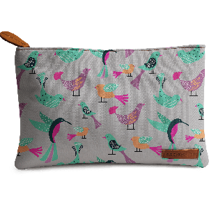 Buy DailyObjects Birds Pattern Carry-All Pouch Medium - Nykaa
