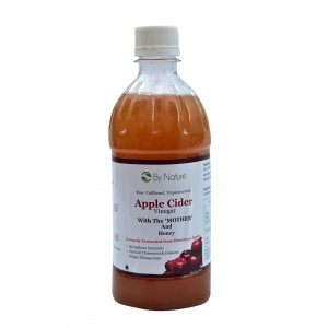 Buy By Nature Raw, Unrefined Apple Cider Vineger With Honey - Nykaa