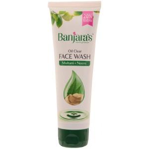 Buy Banjara's Multani + Neem Face Wash - Nykaa
