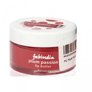 Buy Fabindia Face Plum Passion Lip Butter - Nykaa