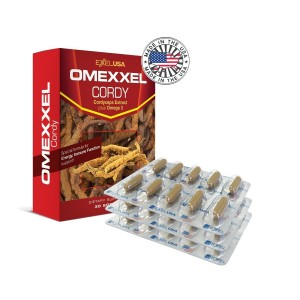 Buy Herbal ExxelUSA Omexxel Cordy ( Cordyceps Sinensis Extract 240Mg) - Nykaa