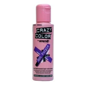 Buy Crazy Color Semi Permanent Hair Color Cream - Hot Purple No. 62 - Nykaa